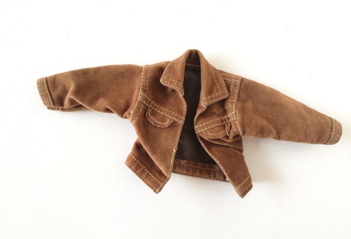 Ken brandon chaqueta abrigo ante marrón sensacion de vivir
