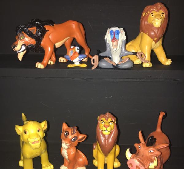 Lote rey leon (simba, zazu, pumba, scar, mufasa, rafiki)