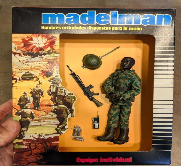 Madelman comando a estrenar de juguetería