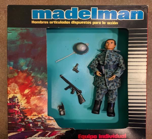 Madelman marina de guerra a estrenar de juguetería