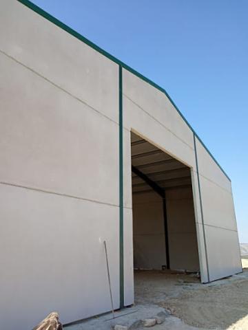 Paneles macizos prefabricados de hormigón para fachadas