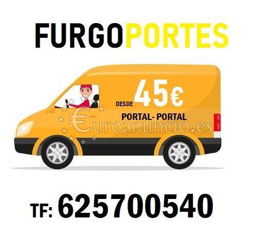 Personal autorizado r625700540 portes en getafe