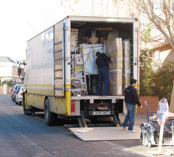 Transporte y mudanzas desde argentona