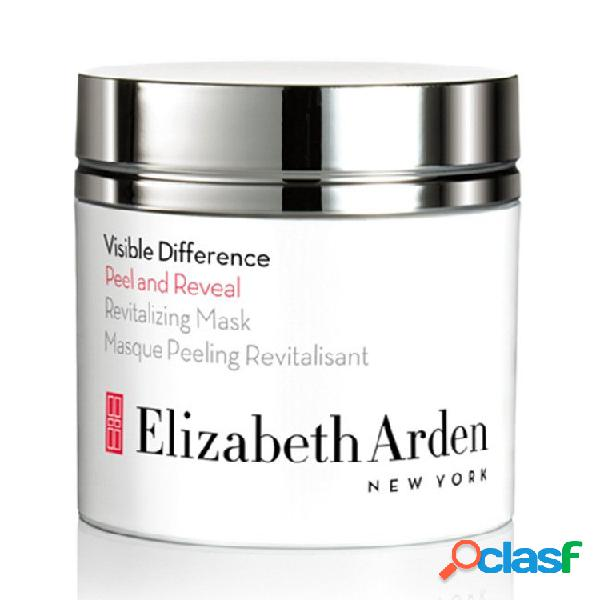 Elizabeth arden visible difference peel and reveal revitalizing mask. máscara de 50 ml