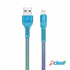 Lechiq rainbow cable 8 pin 1m