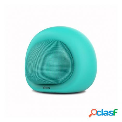 Altavoz bluetooth celly bubble beat 3w mint
