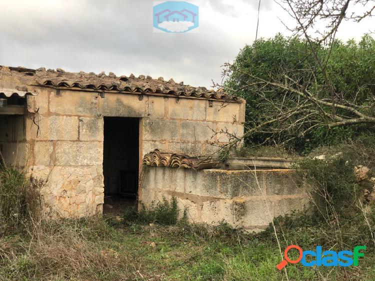 Terreno con casa de 200 metros en venta con casita,luz y agua en manacor dream house mallorca inmobiliaria