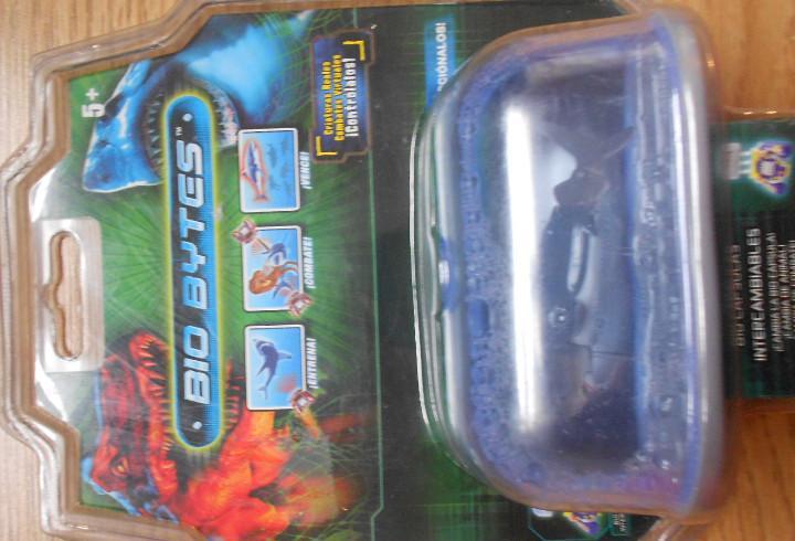 Bio bytes. bio capsulas intercambiables. tiburón. nuevo.