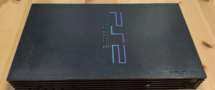 Consola playstation 2 ps2, modelo fat chipeada, funcionando,
