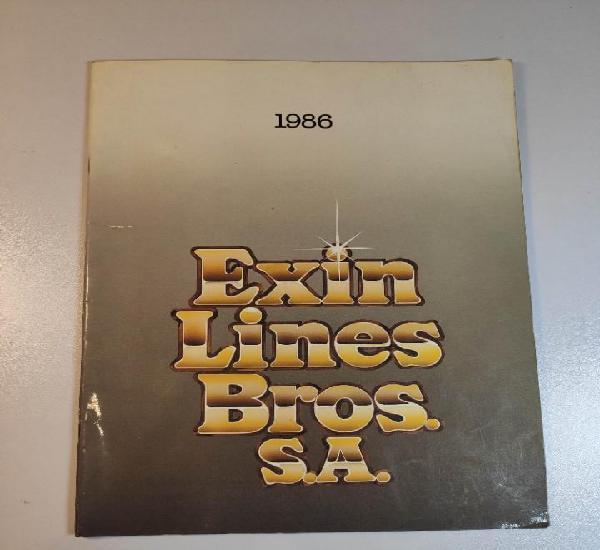 Exin 86 catalogo de 35 paginas