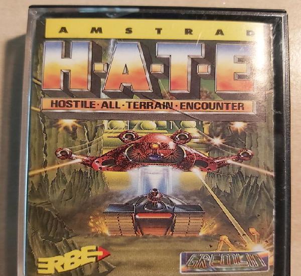 H.a.t.e hostile all terrain encounter amstrad cinta