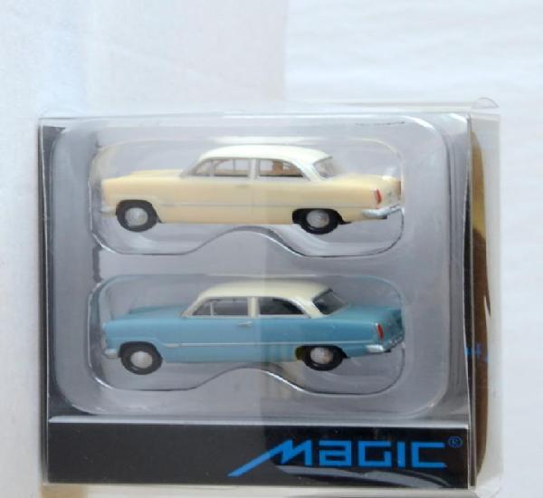 Herpa magic escala h0 1:87 juego de dos coches ford taunus