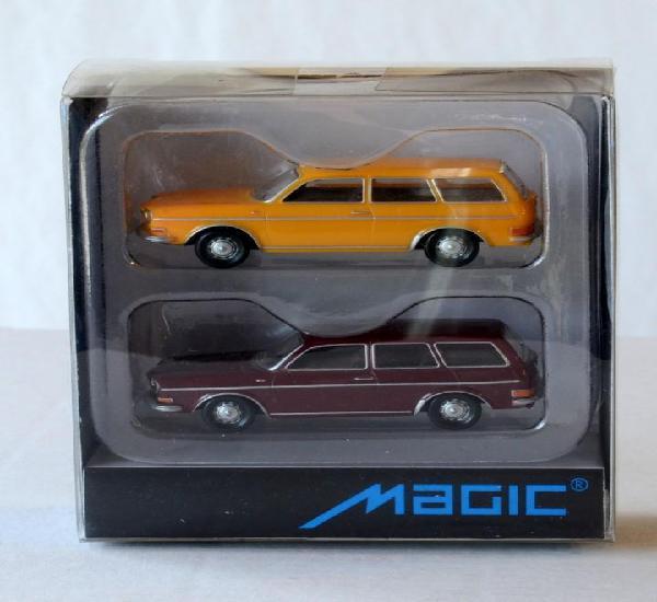 Herpa Magic Escala H0 1:87 Juego de dos coches VW Volkswagen