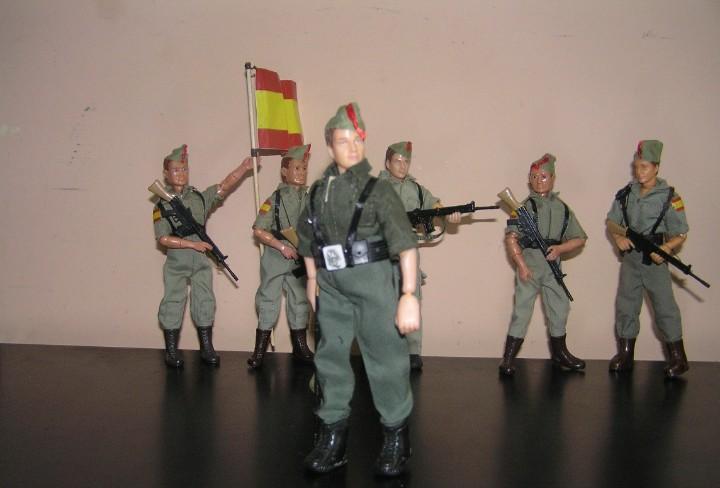 Madelman mde oficial legionario. legión española. militar.