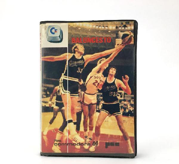Baloncesto estuche mec españa 1985 juego international