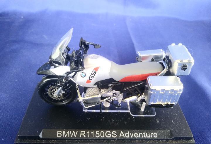 Coleccion motos: bmw r1150gs adventure - esc 1:24 - ixo
