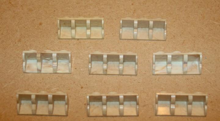 Oferta: 8 cornisas de 3x1 de exin lines bros, elb, piezas