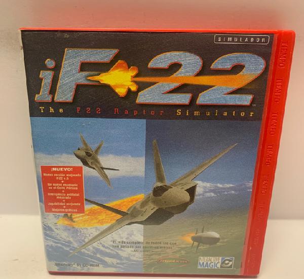 Pc 738 if 22 raptor juegos pc segunda mano