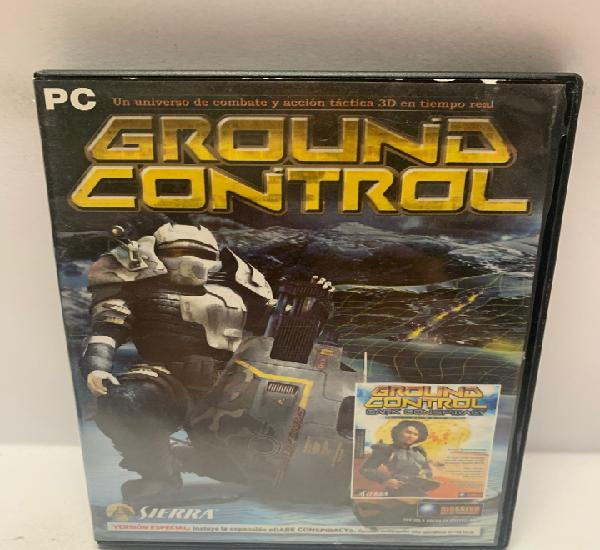Pc 746 ground control juegos pc segunda mano
