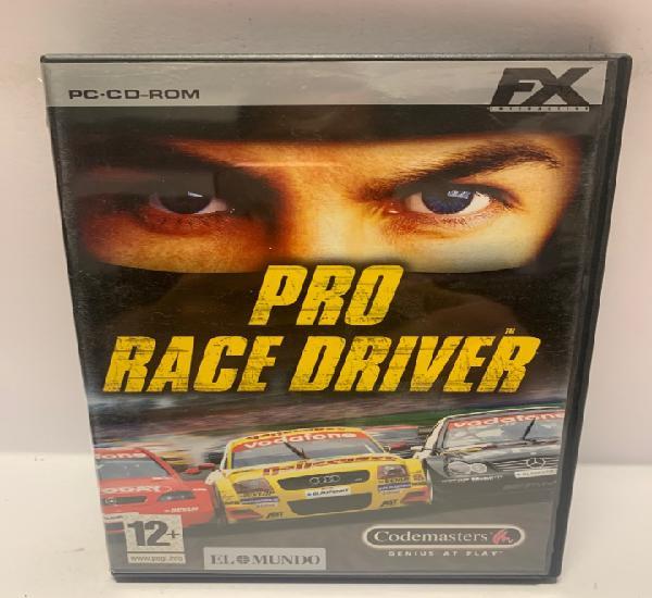 Pc 747 pro race driver juegos pc segunda mano