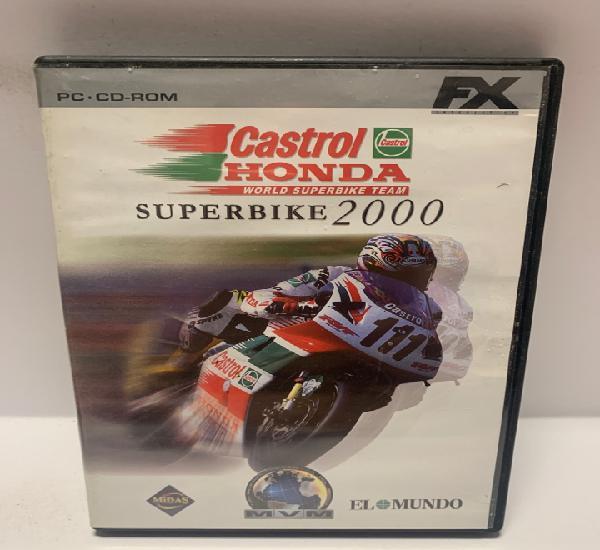 Pc 750 castrol honda super bike 200 juegos pc segunda mano