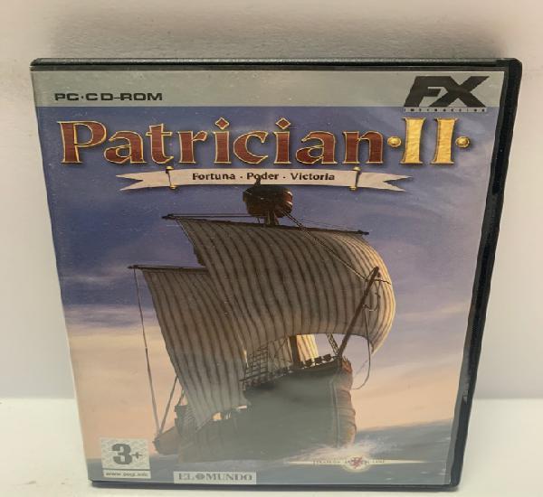 Pc 752 patrician ii juegos pc segunda mano