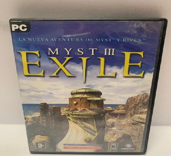 Pc 754 myst iii exile juegos pc segunda mano