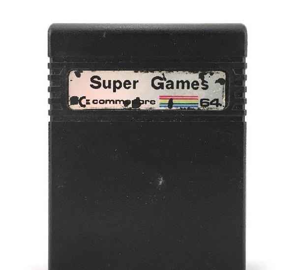 Super games cartucho commodore 64 juegos colossus chess 2