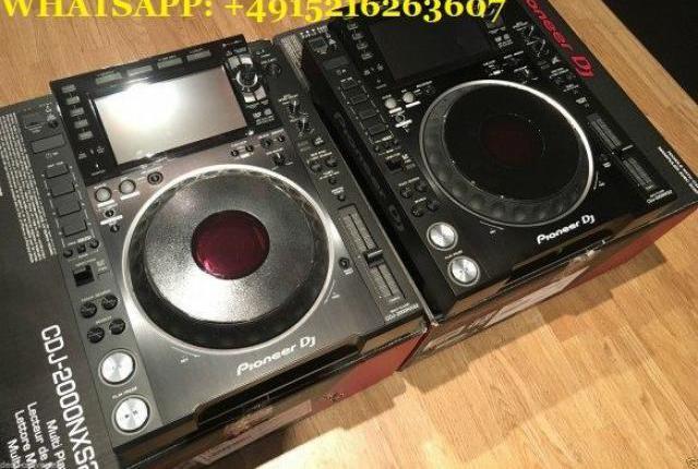 Vendo pioneer dj 2x pioneer cdj-2000nxs2 y djm-900nxs2 +