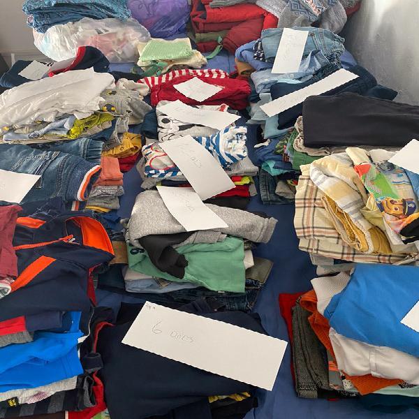 Lotes de ropa/ individual