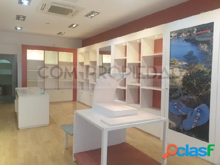 Local comercial de 80 m2 situado en la zona de la lonja - borne