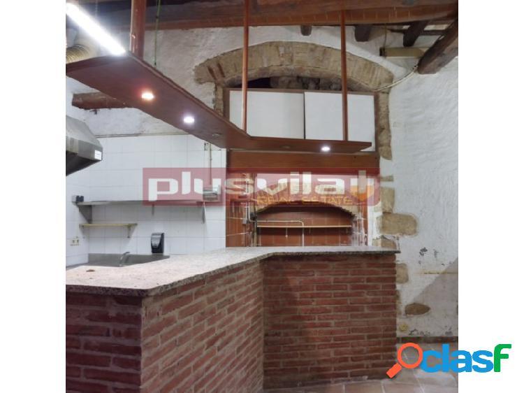 Bajos comercial con espacio diafano en venta centre vila, vilafranca del penedes, barcelona.
