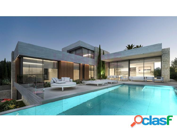 Proyecto para una magnífica villa moderna con vistas al mar en moraira.