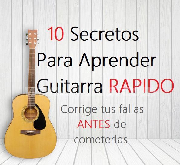 Curso digital para corregir errores al tocar guitarra