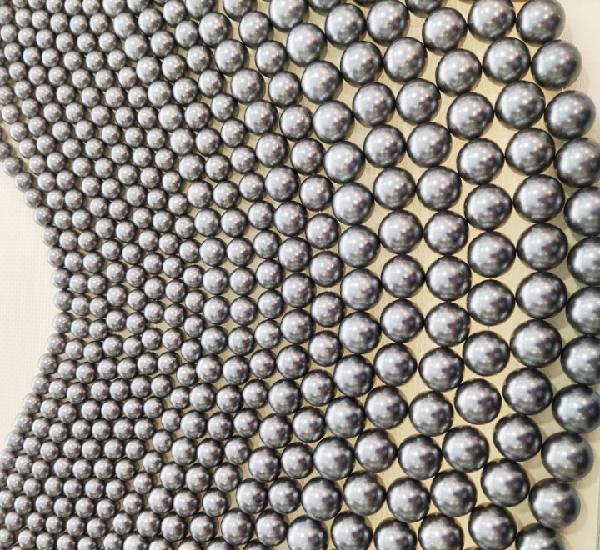 Perlas shell grises oferta lote