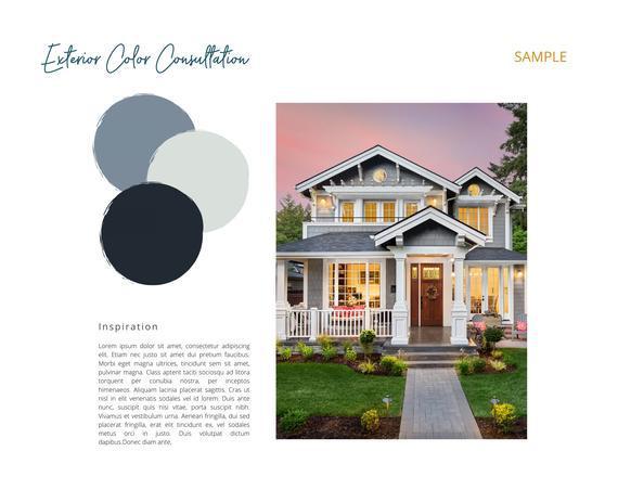 Exterior color consultation