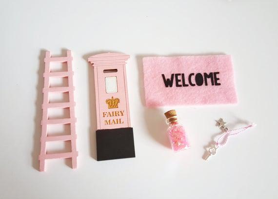 Paquete de accesorios de puerta de hadas - extras de puerta