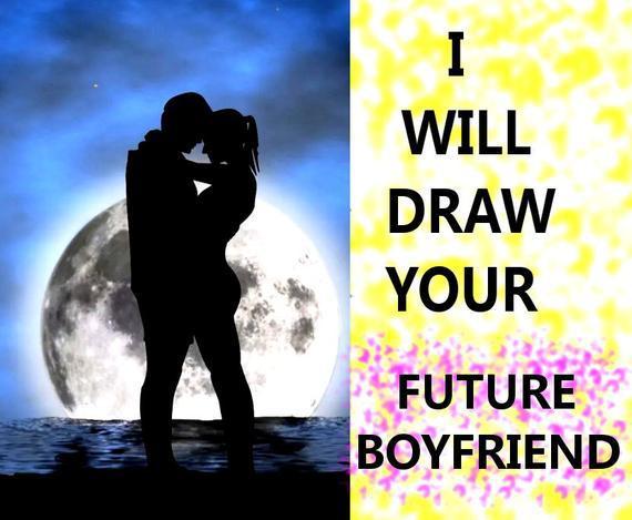 Voy a dibujar su futuro novio dibujo psíquico, lectura