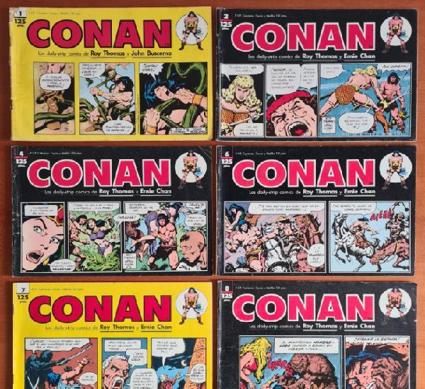 9 daily strip comics conan roy thomas ernie chan john