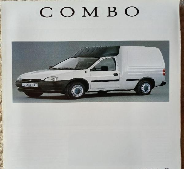 Catálogo opel combo. octubre 1993. en español *