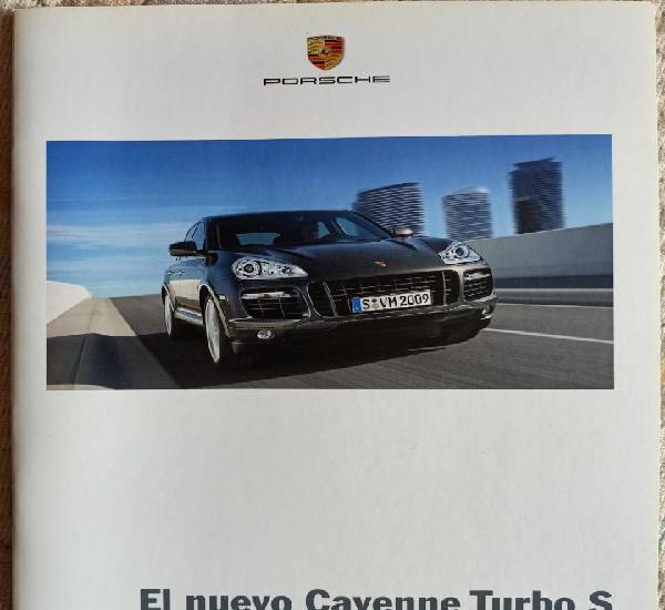 Catálogo porsche cayenne turbo s. mayo 2008. en español