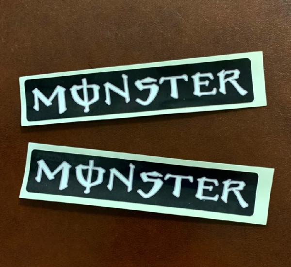 Monster adhesivos decoracion coche y moto