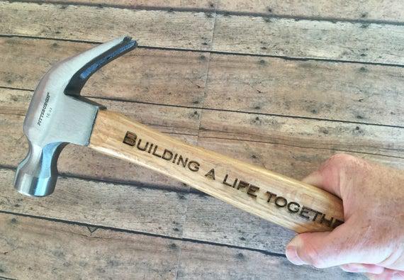 Martillo personalizado, martillo grabado, martillo