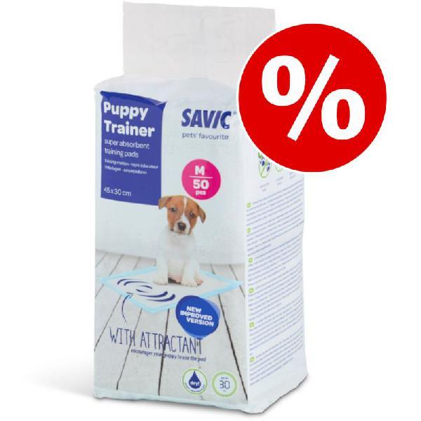 Savic empapadores puppy trainer para perros ¡en oferta!