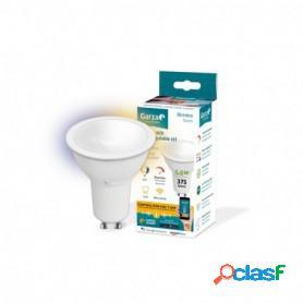 Garza lighting smarthome, bombilla led wifi cct 5.5 w, gu10, inteligente, cambio de intensidad y tonalidad, control voz y app
