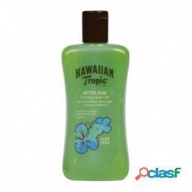 Hawaiian tropic gel after sun de aloe vera para piel irritada por el sol, 200 ml