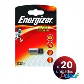 Energizer pila alcalina a23. pack de 20 unidades