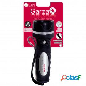 Garza power light, linterna energy light, mínimo consumo, 3 lentes led nichia, impermeable