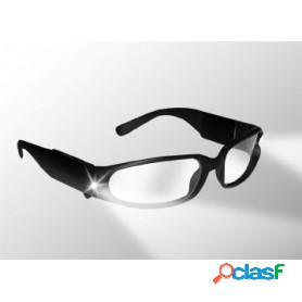 Gafas panther vision con luz led de seguridad