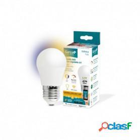 Garza lighting smarthome, bombilla led wifi cct esférica inteligente, 5.5 w, e27, control voz y app, intensidad y tonalidad